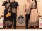 Couple Batik Hijabers Sari
