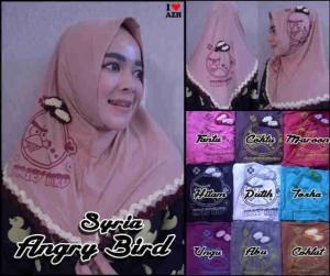 Jilbab Syiria Instan Angry Bird