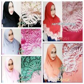 Jilbab Hijab Style Syiria Lacy