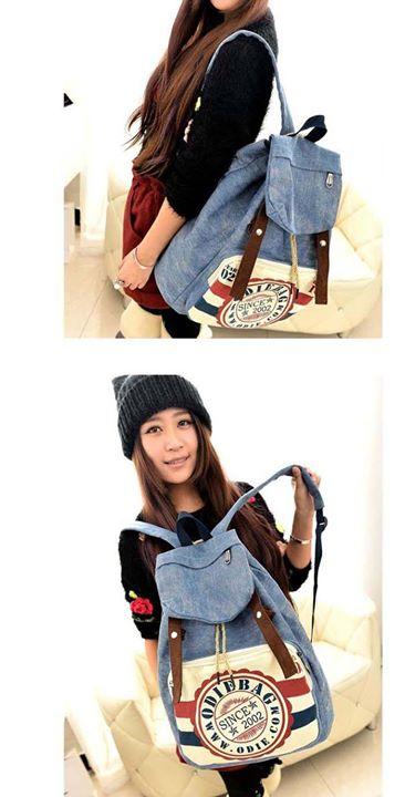 Dijual Backpack Korea Ransel Odie Bag Bp90 Korean Stylish Grosir Foto 1