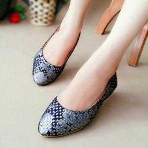 Flat Shoes Sepatu Cewek JKY31 Hitam