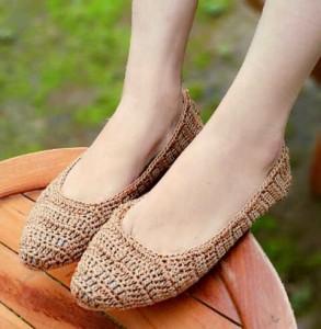 Flat Shoes Rajut LKY46 Sepatu Wanita  Kerja Casual