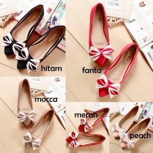 Dijual Flat Shoes RP012 / RP12 Murah Aneka Warna