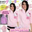 Jaket Cewek Hello Kitty Pink Baby Beautiful