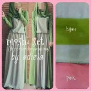 Moshi Set Baju Muslim Cantik