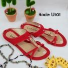 Sandal Flat UT01 Trendy Kekinian