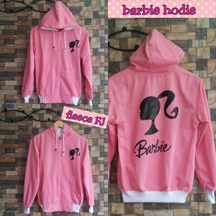 Diskon Barbie Hoodie Fleece Pink Murah Picture 1