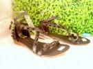 Sandal Cewek Wanita Flat Studded BO21