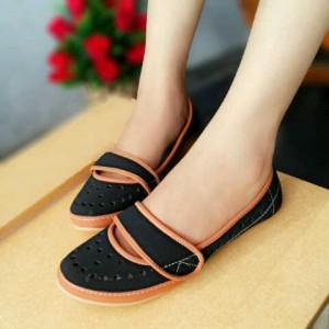Flat Shoes HR01 / Sepatu Flat HR01 Sepatu Wanita Kerja