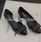Flat Shoes Sepatu Cewek OP03 Hitam