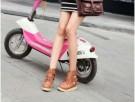 OREON Boots Sepatu Cewek Warna Coklat