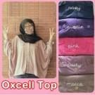 Oxcell Top Baju Cewek Atasan Batwing Kasual