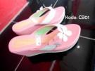 Sandal Wedges CB01 Wanita Trendy