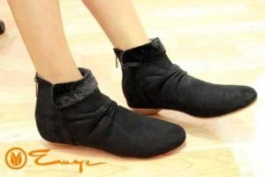 Boots Sepatu Korea Warna Black