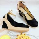 Sepatu Wedges KM18 Bagus Cantik
