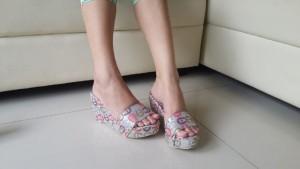 Wedges Sandal AT12 Keren Terbaru