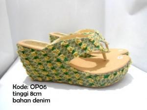Wedges Sandal OP06 Terbaru Trendy