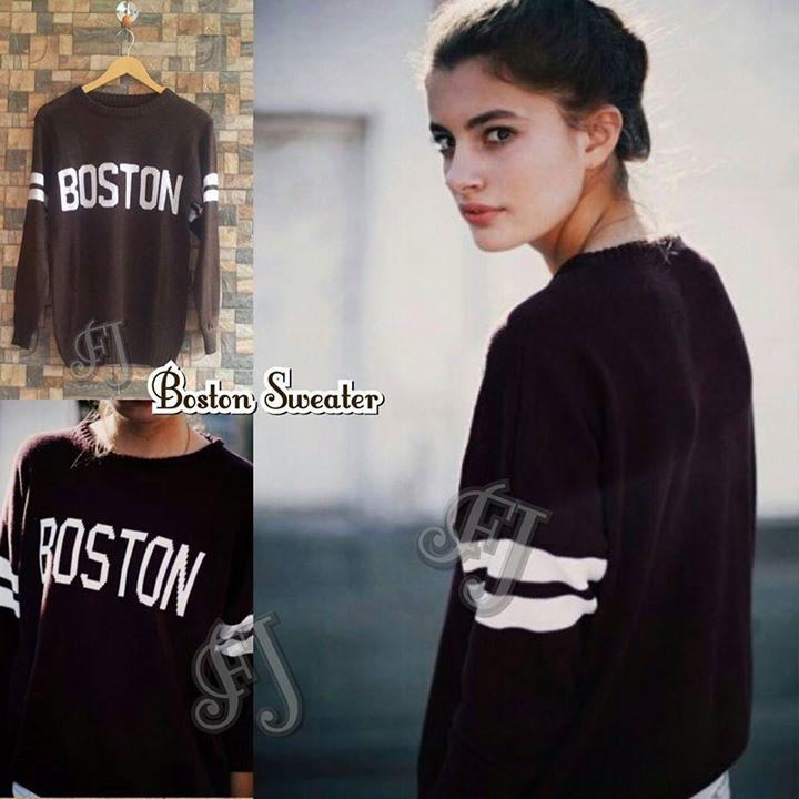 Grosiran Boston Sweater Murah Foto 1
