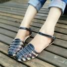 Flat Sepatu Cewek MYN29 Hitam