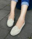 Flat Shoes Seaptu Cewek ABD48 Abu-abu