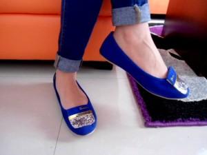 Flat Shoes Garden Sepatu Wanita Casual Warna Merah