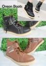 OREON Boots Sepatu Cewek Gaul