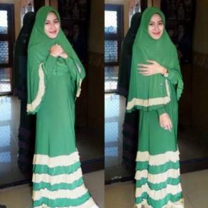 Dress Cewek Muslim SALE original POP UP Rosyanti Bergo Tosca Stelan