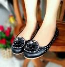 Sepatu Flat AB01 / Flat Shoes AB01 Sepatu Wanita Kerja Bunga