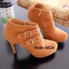 Boot Heels Wanita MC16 Keren Trendy