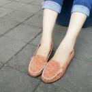 Flat Shoes  Sepatu Cewek ABD48 Coklat