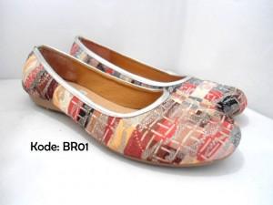 Flat Shoes BR01 Sepatu Kerja Casual