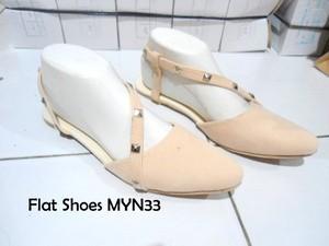 Flat Shoes MYN33 Studd Sepatu Wanita Trendy