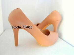 High Heels OP05 Sepatu Wanita Formal Casual