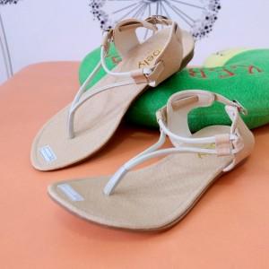 Sandal Flat Raisa Casual Keren