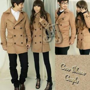 Coco Blazer Couple Remaja Trendy Romantis