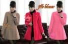 Jills Blazer Cewek Coklat Merah Pink