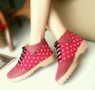 Sepatu Kets Wanita Cewek Casual Docmart ND03 Polkadot