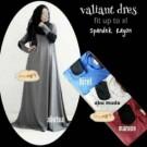Valiant Dress Wanita Muslim Cantik