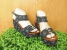 Wedges LV Sandal Wanita