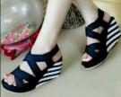Wedges RM69 / Wedges Belang Sepatu Sandal Wanita