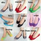 Sepatu Cewek Wanita Flat Shoes Jaring Kombinasi LKY37