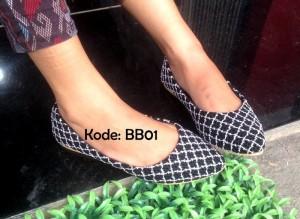 Flat Shoes Sepatu Cewek Wanita BB01