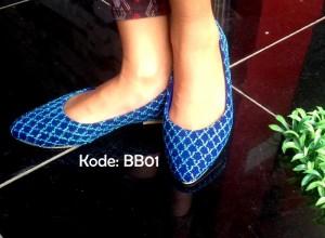Promo Flatshoes BB0Promo Flatshoes BB01 Terbaru Biru