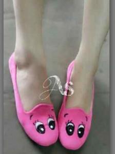 Flatshoes GIRLY Sepatu Wanita Pinky Girl