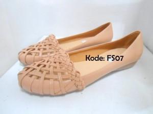 Flat Shoes Sepatu Cewek Wanita FS07