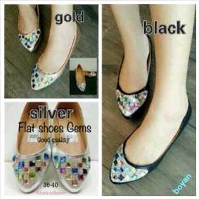 Pusat Flat Shoes Manik Lky19 / Lky019 Grosir