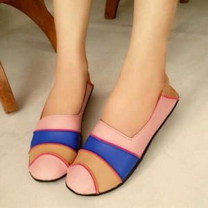 Pusat Sepatu Flat US55 / Flat Shoes US55 Asli Warna Salem