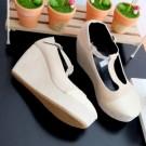 Sepatu Wedges SP06 Trendy Terbaru