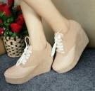 Wedges Boots Wanita YY12 / YY012 Sepatu Wanita Trendy