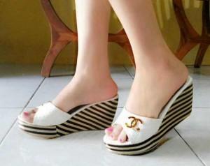 Wedges Salsa Sandal Sepatu Wanita